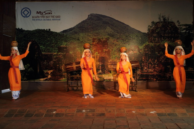 Traditional Dance at My Son, Vietnam