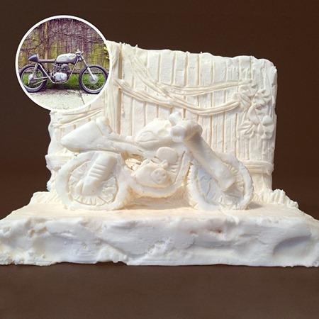 Esculturas de bolachas OREO 12
