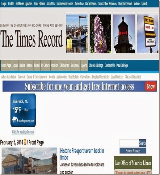 Times Record LePage Tab