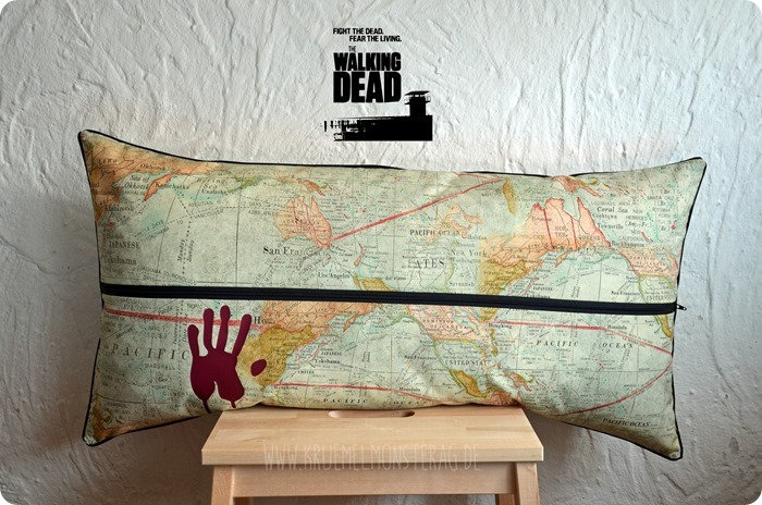TWD (02) The Walking Dead Kissen #twd