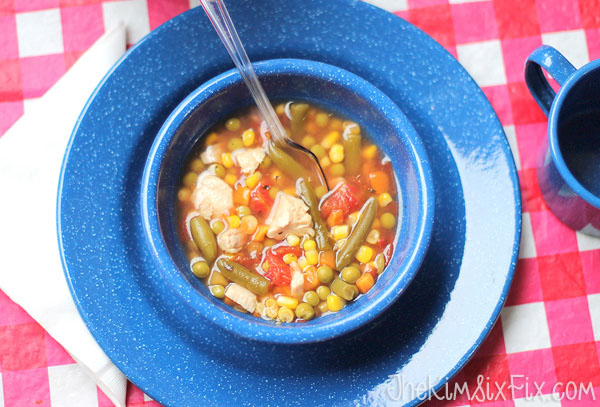 Chicken vegetable soup copy