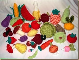 Crochet Amigurumi Vegetables : My Own Universe: AMIGURUMI FRUITS & VEGETABLES