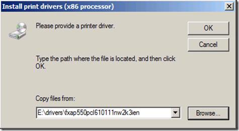 03 Install print drivers x86