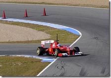 Alonso nei test di Jerez 2012