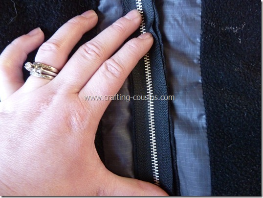 How to replace a coat zipper tutorial by The Crafty Cousins (13)