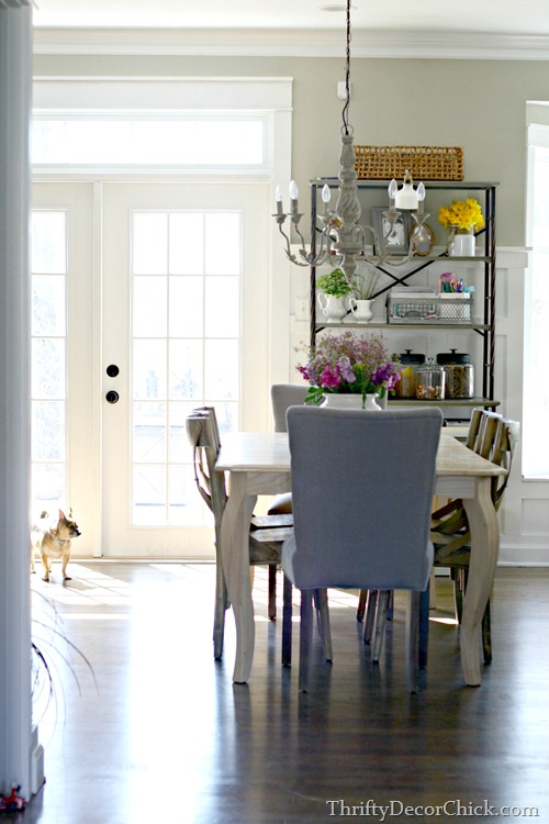french doors kitchen