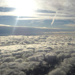 above the clouds in Berlin, Berlin, Germany