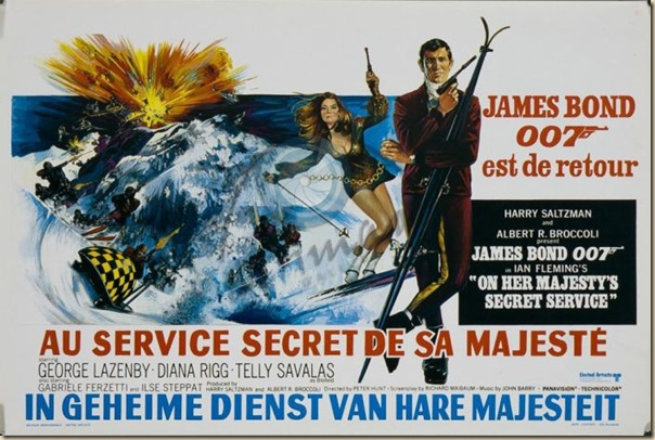 Affiche cinéma de James Bond (6)