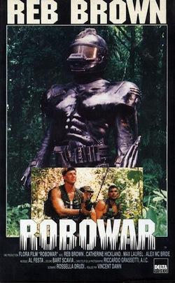 Robowar poster