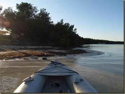 kayaking at Curry Hammock State Park kayak launch