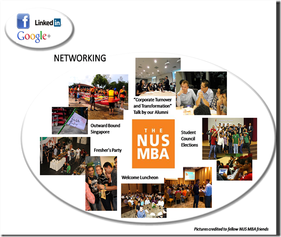 NUS MBA Networking