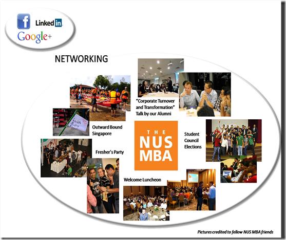 NUS MBA Networking