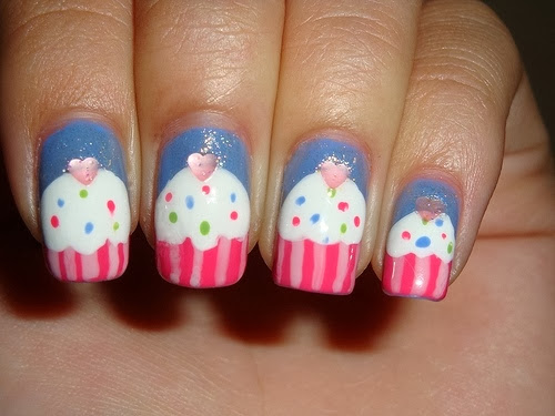Kid Nails Cupcake Nails Designs For Kids
