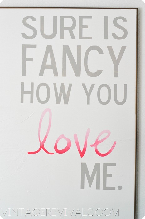 DIY Ombre Quote vintagerevivals.com
