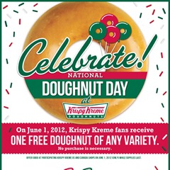 Krispy Kreme national donut day 2012
