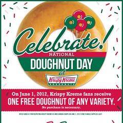 Krispy Kreme national donut day 2012