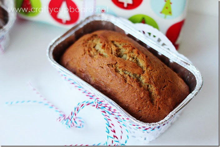 Banana Bread Christmas Gift