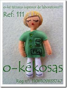 o-ké técnico superior laboratorio Ref: 111