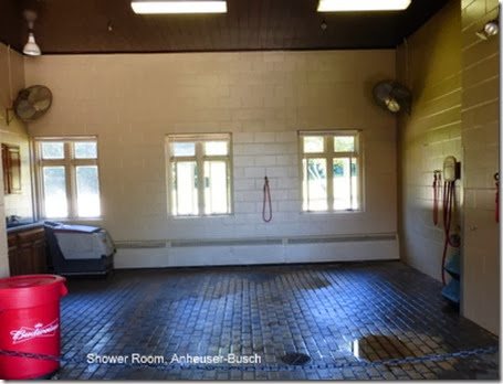 Shower Room, Anheuser-Busch