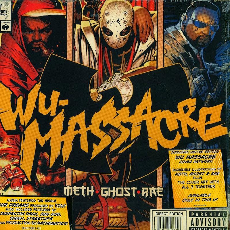 DE AFARA: Meth, Ghost & Rae - Wu-Massacre (2010)