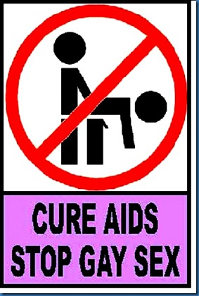 AIDS Cure - Stop Gay Sex