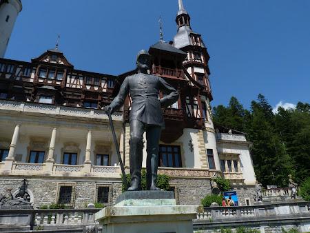 Imagini Romania: Statuie Rege Carol