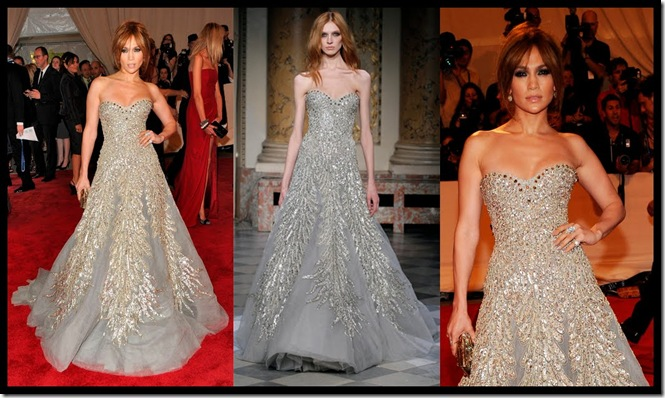 Jlo in Zuhair Murad Couture Spring 2010