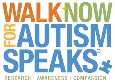 Walk Now for Autism Speaks logo