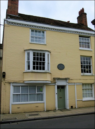 Jane Austen Home in Winchester
