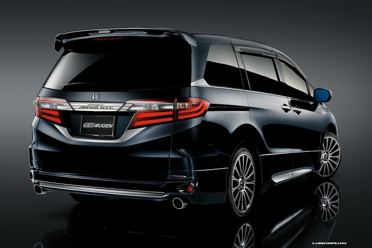 New JDM 2014 Honda Odyssey Worked Out by Mugen 48 Photos  Video