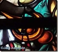 Media Luna de bronce - Vidriera de Las Navas de Tolosa - Roncesvalles