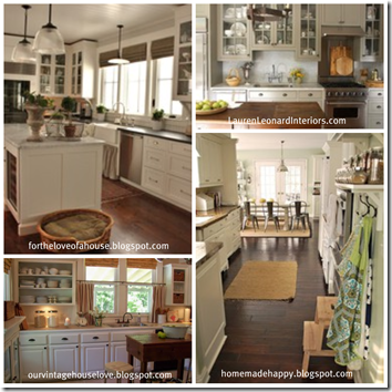 Kitchen collage