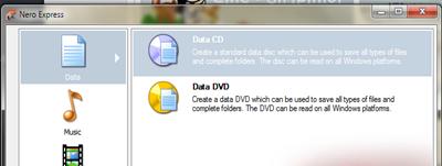 เขียนไฟล์งาน ebook ลงแผ่นซีดี