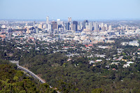 Brisbane CBD (from Mt Cootha)