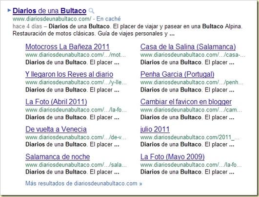 Bultaco Sitelinks