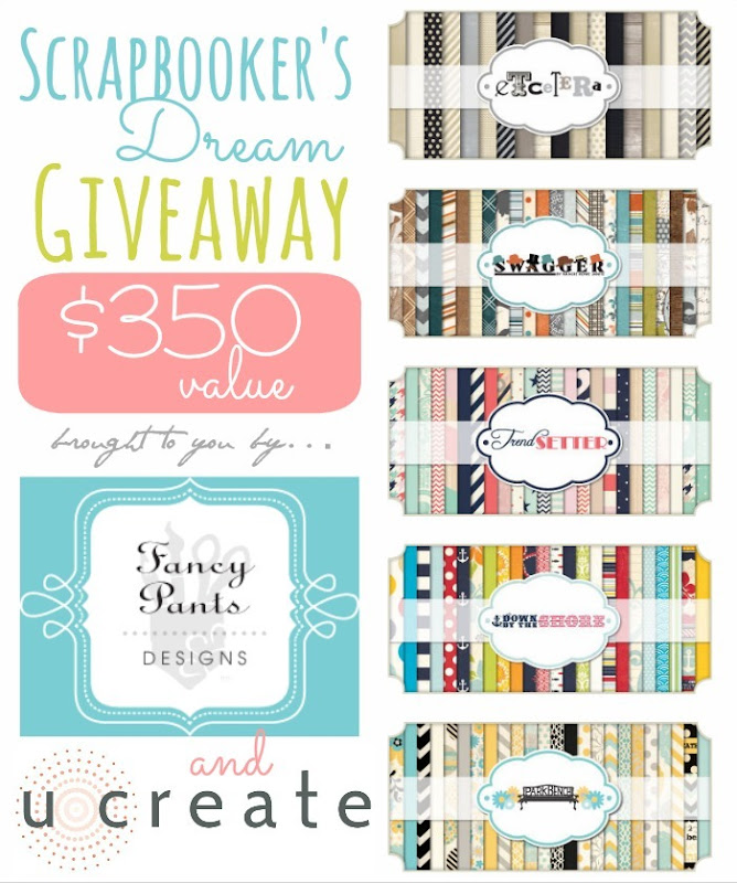 Scrapbooker's Dream Giveaway