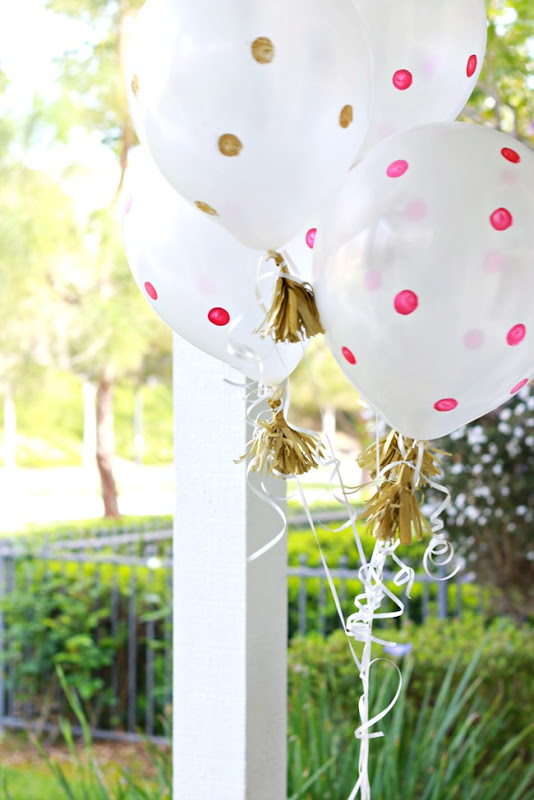 how to make balloon tassels