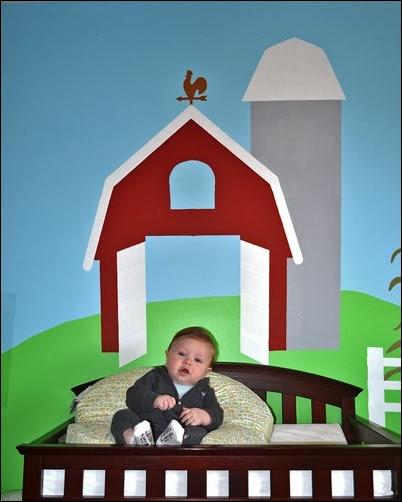 Baby Doc 4 months barn