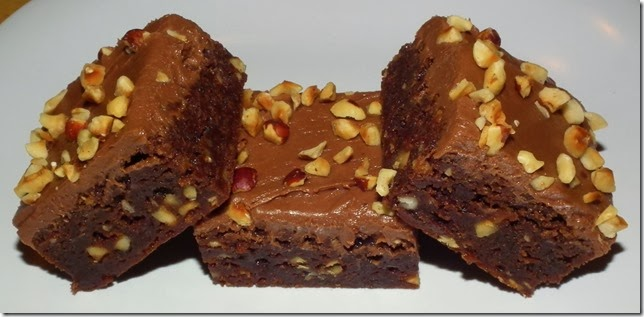 Frosted Nutella Hazelnut Brownies 1-31-12