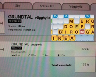 SWEDEN IKEA shopping for Grundtal