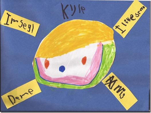 Kyle school work 2012