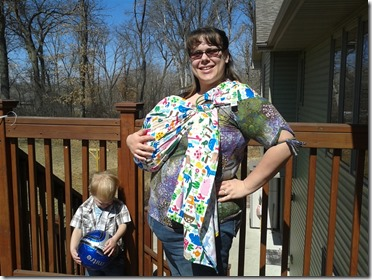 Modest Mommies: Baby Ring Sling