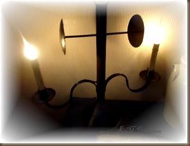 double arm lamp