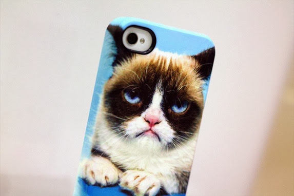 CASEABLE GRUMPY CAT PHONE CASE 2