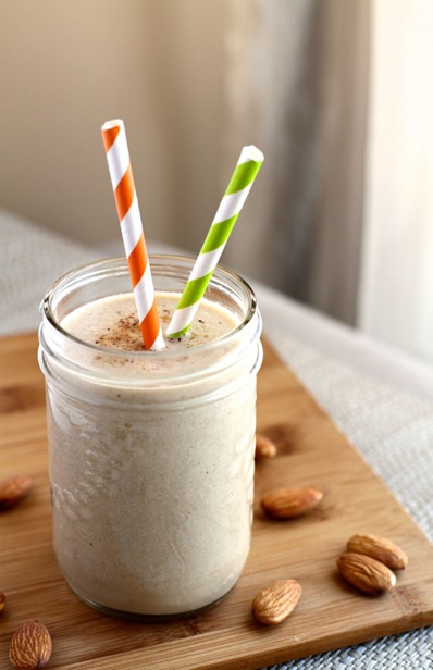 Apple Pie Protein Smoothie by Running With Spoons