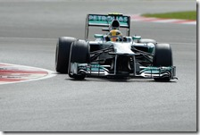 Hamilton conquista la pole del gran premio di Gran Bretagna 2013