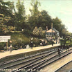 Postcard Shot of Midsomer Norton and Welton Railway Station (c1900).