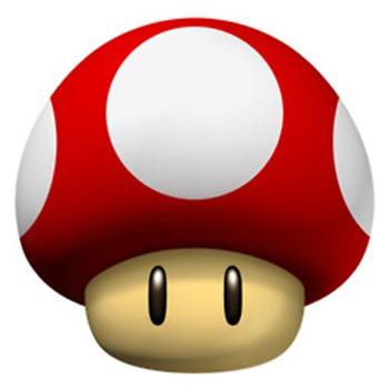 Mario red Mushroom