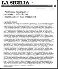 la sicilia del 2_10_2012