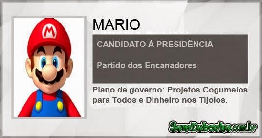 CANDIDATO: MARIO